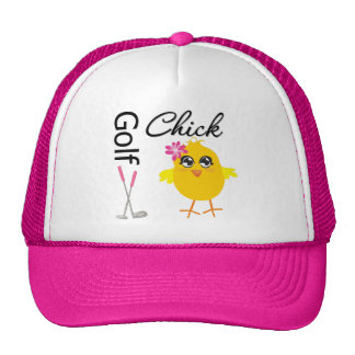 Golf Chick Trucker Hat