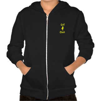 Golf  Chick Hooded Pullover