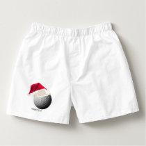 golf christmas boxers