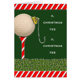 Golf Christmas Cards Greeting Photo Cards Zazzle - Golf christmas cards