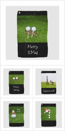 Golf Christmas Cards and Gifts