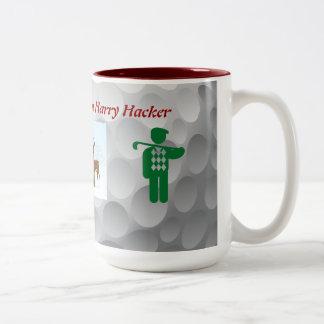 Golf Christmas mug