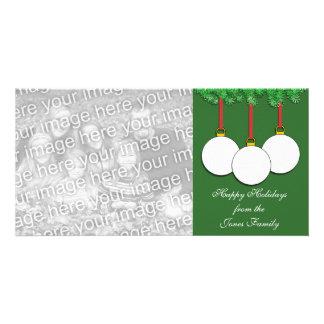 Golf Christmas Photo Card