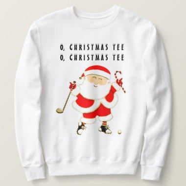 Golf Christmas Sweatshirt