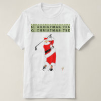 Golf Christmas T-Shirt