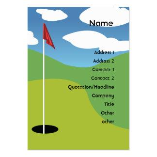 Golf - Chubby Business Cards