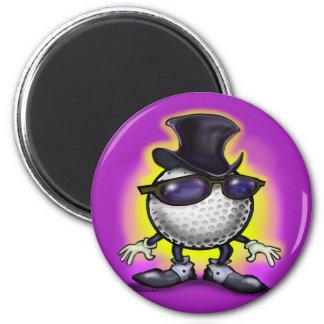 Golf Class 2 Inch Round Magnet