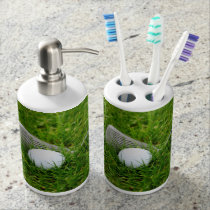 Golf Club and Golf Ball Bath Set