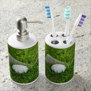 Superior Golf Club And Golf Ball Bath Set