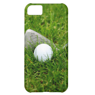 Golf Club and Golf Ball iPhone 5C Case
