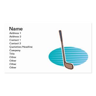 Golf Club Business Card Templates