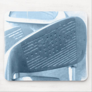 Golf Club Collage Mouse Pad
