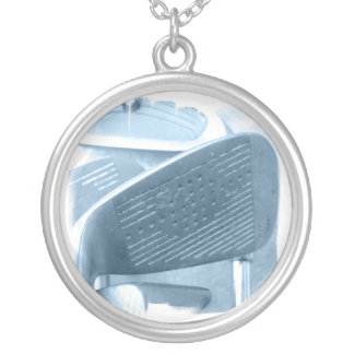 Golf Club Collage Necklace