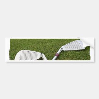 Golf Club Design Bumper Sticker