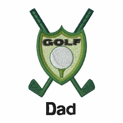 Golf club emblem personalized name embroidered polo shirt for Custom embroidered polo shirts no minimum order