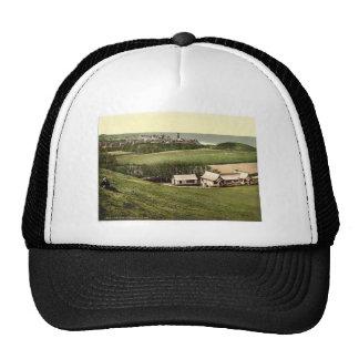 Golf club house, Cromer, England classic Photochro Trucker Hat