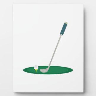 Golf Club Photo Plaques