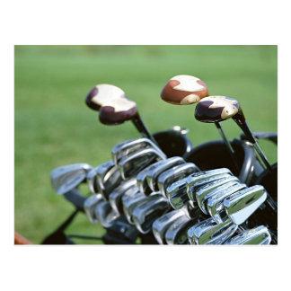 Golf Club Postcard