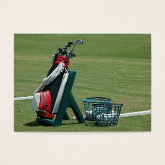 Golf Clubs Business Card