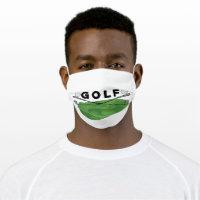 Golf Clubs Cloth Face Mask