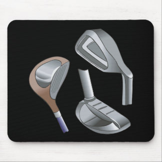 Golf Clubs Mouse Pads