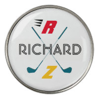 golf clubs personalized golf ball marker