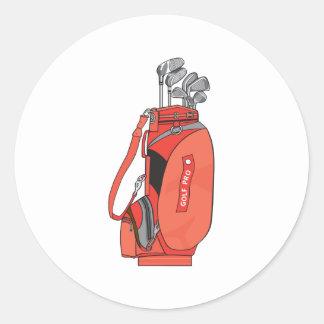 golf clubs round stickers