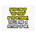 Golf Coach In Dictionary...My Picture Announcements
