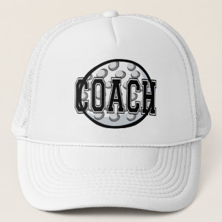 Golf Coach T-shirts and Gifts. Trucker Hat