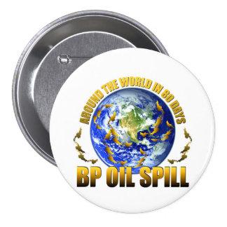 Golf Coast Oil Spill 3 Inch Round Button