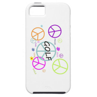Golf Colored Peace Signs iPhone SE/5/5s Case