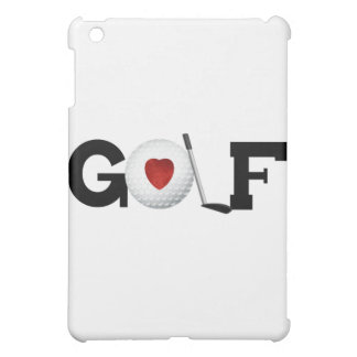 Golf con la pelota de golf y los regalos