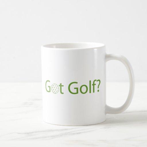 Golf conseguido tazas de café