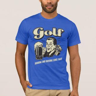 Golf: Consumición y conducción desde 1642 Playera