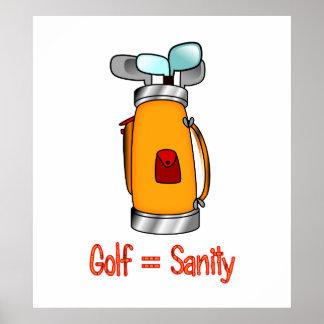 Golf = cordura posters