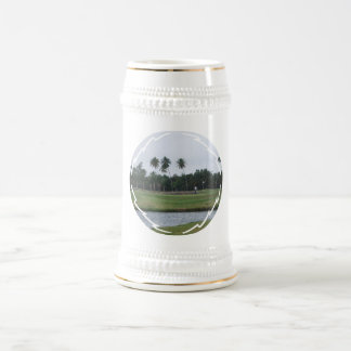 Golf Country Club Beer Stein 18 Oz Beer Stein