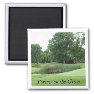 Golf course2 Magnet, Forever on the Green
