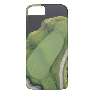 Golf Course - Aerial View of Green iPhone 7 Case
