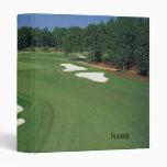 Golf Course Binder