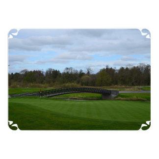 Golf Course Bridge 5x7 Paper Invitation Card