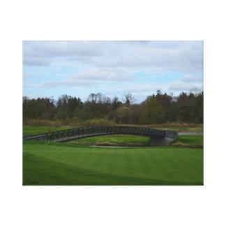 Golf Course Bridge Canvas Prints
