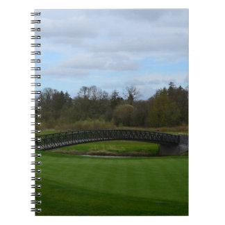 Golf Course Bridge Note Books
