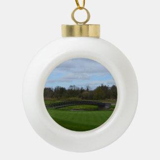 Golf Course Bridge Ornament