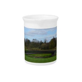 Golf Course Bridge Beverage Pitcher