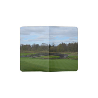 Golf Course Bridge Pocket Moleskine Notebook Cover With Notebook