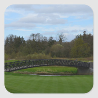 Golf Course Bridge Sticker