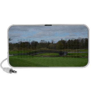 Golf Course Bridge Travelling Speaker