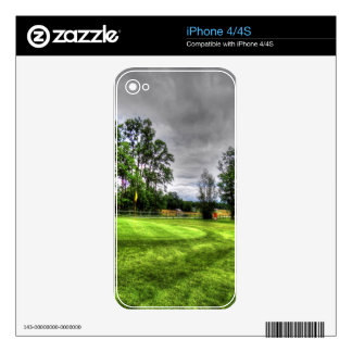 Golf Course Decals For iPhone 4