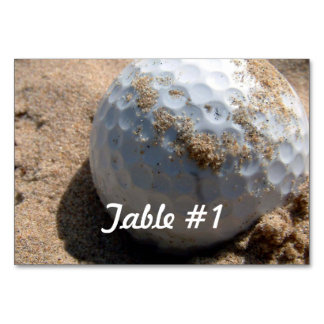 Golf Course Designs Card
