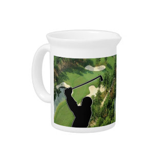 Golf Course Drink Pitcher